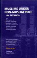 Muslims Under Non Muslim Rule