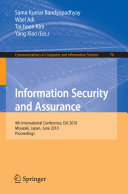 Information Security and Assurance