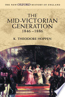 The Mid-Victorian Generation, 1846-1886
