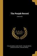 The Punjab Record