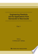 Engineering Plasticity and Its Applications