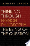 Thinking Through French Philosophy