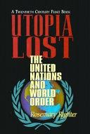Utopia Lost
