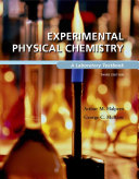 Experimental Physical Chemistry Book