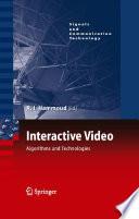 Interactive Video Book