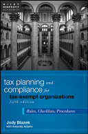 Tax Planning and Compliance for Tax Exempt Organizations