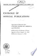 Exchange Of Official Publications