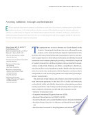 """Assessing Addiction: Concepts and Instruments: A Reprint from """"Addiciton Science and Clinical Practice"""""""