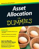 Asset Allocation For Dummies Pdf/ePub eBook