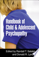 Handbook of Child and Adolescent Psychopathy