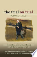 The Trial on Trial  Volume 3