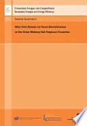 Mini Grid System For Rural Electrification In The Great Mekong Sub Regional Countries Book PDF