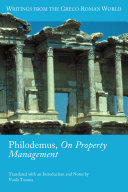 Philodemus  On Property Management