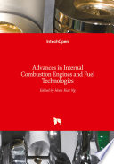 Advances In Internal Combustion Engines And Fuel Technologies Book PDF