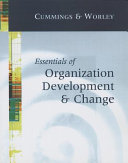 Essentials of Organization Development and Change