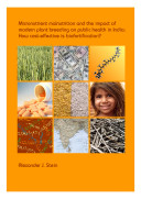 Micronutrient Malnutrition and the Impact of Modern Plant Breeding on Public Health in India
