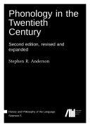 Phonology in the Twentieth Century