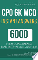Cpo Mcq Previous Year Questions Most Important Faq Gk General Knowledge Sereis Pdf Format