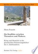 Die Konflikte zwischen Thessalern und Phokern