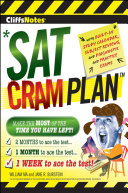 CliffsNotes SAT Cram Plan 2nd Edition