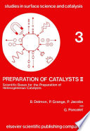 Preparation Of Catalysts Ii Book PDF