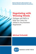 Negotiating with Winning Words Book