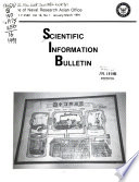 Scientific Information Bulletin