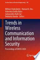 Trends in Wireless Communication and Information Security