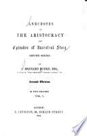 Anecdotes of the Aristocracy