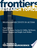Brain Connectivity in Autism Book