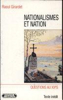 Nationalismes et nation