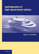 Hydrodynamics of High Speed Marine Vehicles