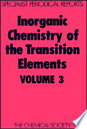 Inorganic Chemistry of the Transition Elements Book PDF