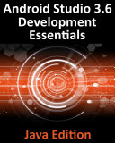 Android Studio 3 6 Development Essentials   Java Edition