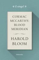 Cormac McCarthy: Blood Meridian [Pdf/ePub] eBook