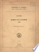 Consumer Market Data Handbook  1936