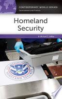 Homeland Security  A Reference Handbook