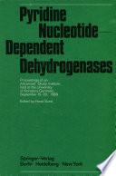 Pyridine Nucleotide-Dependent Dehydrogenases