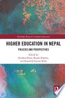 Higher Education In Nepal