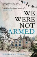 We Were Not Armed Pdf/ePub eBook