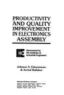 Productivity And Quality Improvement In Electronics Assembly Book PDF