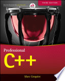 """""""Professional C++"""" by Marc Gregoire"""