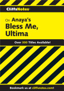 CliffsNotes on Anaya's Bless Me, Ultima ebook