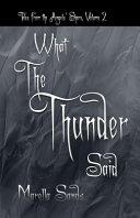 What the Thunder Said