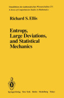 Entropy, Large Deviations, and Statistical Mechanics Pdf/ePub eBook