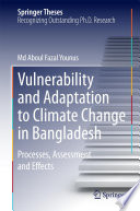 Vulnerability and Adaptation to Climate Change in Bangladesh Book
