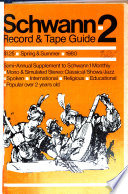 Schwann-2, Record & Tape Guide