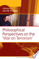 Philosophical Perspectives On The War On Terrorism  Book
