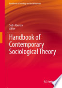 Handbook of Contemporary Sociological Theory