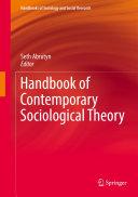 Handbook of Contemporary Sociological Theory
